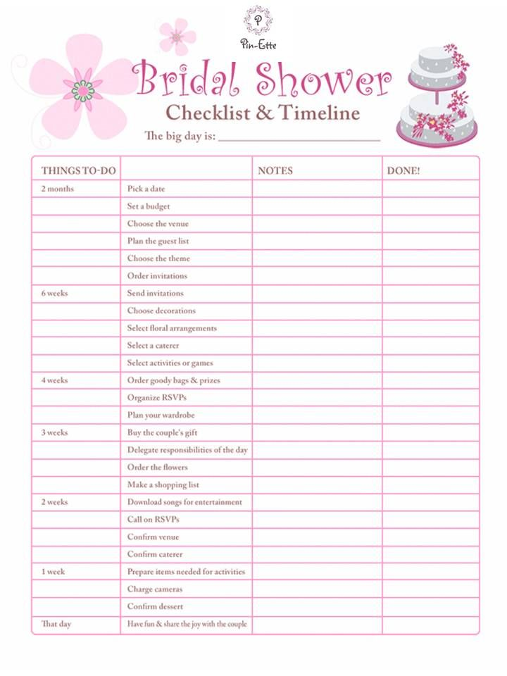 Must have bridal shower checklist and timeline damask, i love you mommy coloring pages