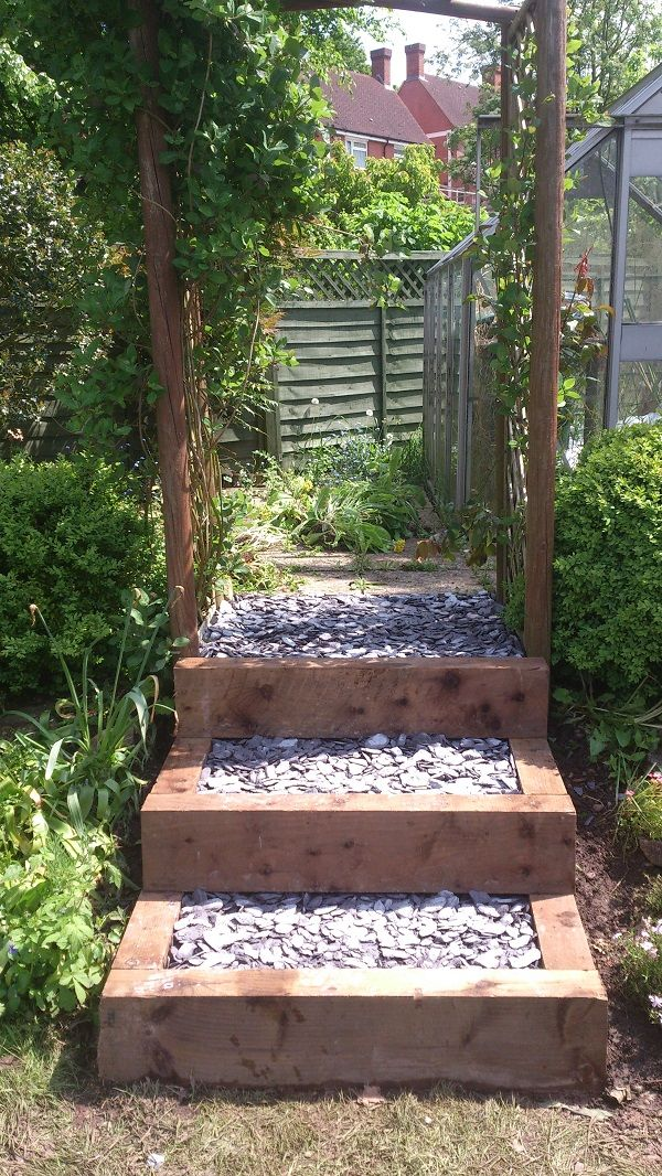 10 best images about Outdoor Steps on Pinterest | Wooden ... on Backyard Stairs Ideas id=57276