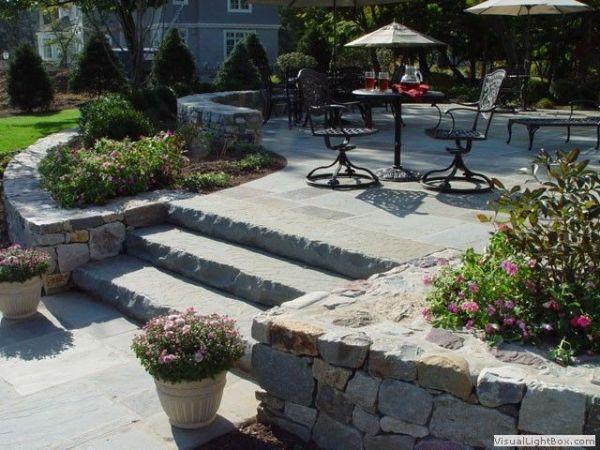 slate garden landscaping 1000+ ideas about Slate Rock on Pinterest | Rock Walkway