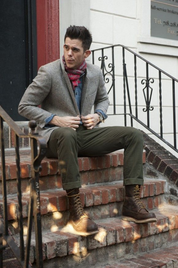 Red Wing Iron Ranger With Slacks