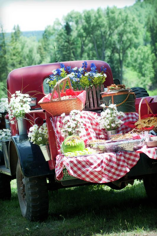 Western Buffet Ideas Perfect Fourth Of July Picnic By The