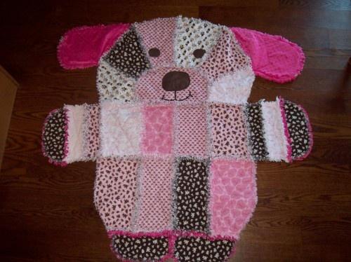 Animal Rag Quilt Pattern Elephant