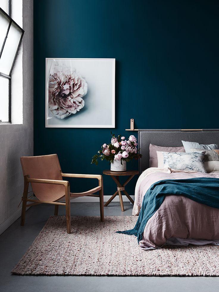 17 Best Ideas About Dark Blue Bedrooms On Pinterest Blue