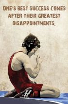 Ones Greatest Success Comes After Their Greatest Disappointments - WrestlingPod: