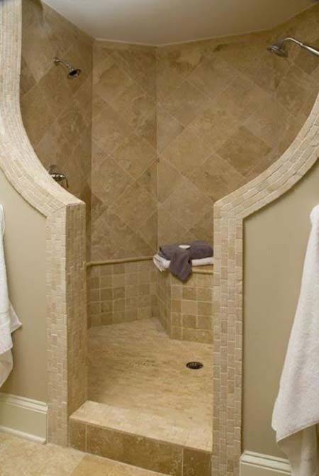 showers without doors or cu