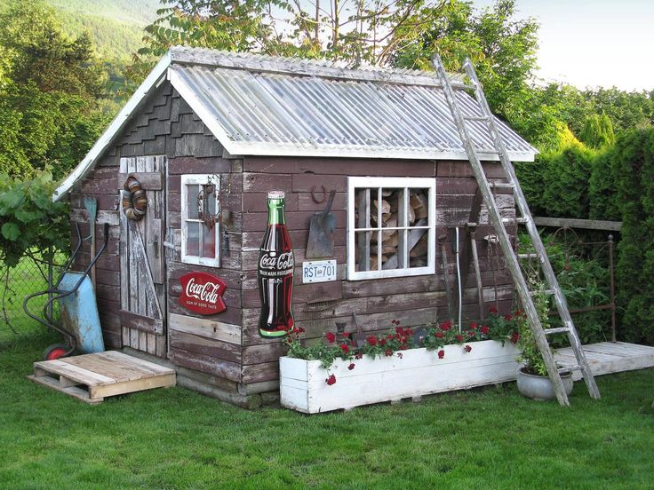 Unique Garden Sheds Designs