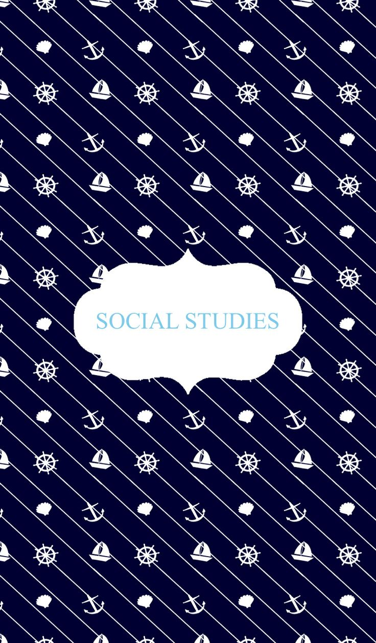 Anchor Social Studies Binder Cover Binder Covers Pinterest