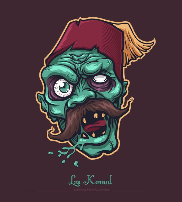 250 best images about ZOMBIE Art on Pinterest The