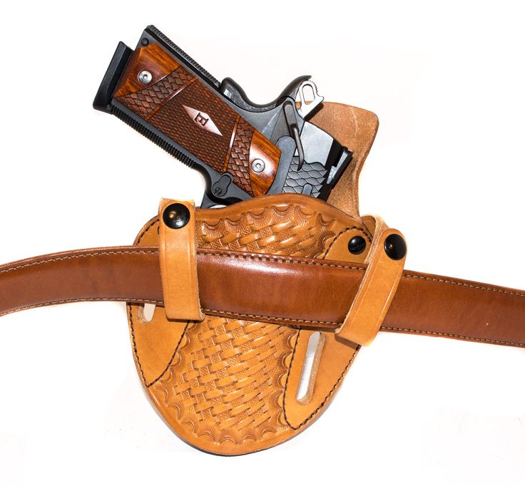 Leather Revolver Holster Pattern Free