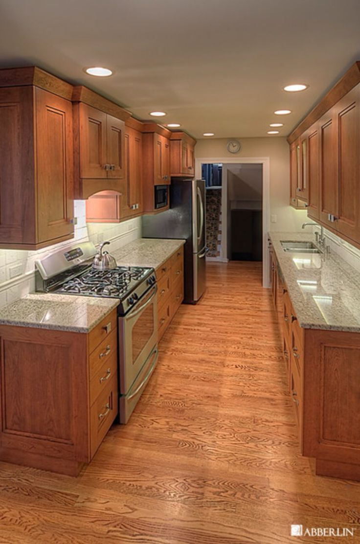 1000 images about galley kitchen on pinterest cabinets countertops and pennies floor on kitchen remodel ideas id=24420
