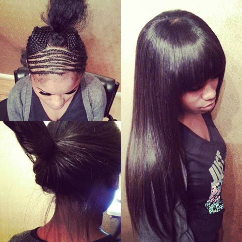 best 25 sew in with bangs ideas on pinterest chinese bangs curly sew in and full sew in weave