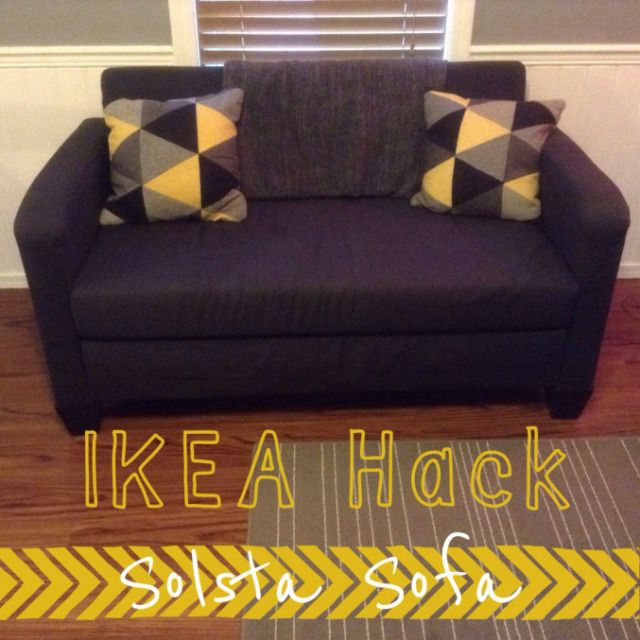 Ikea Hack Solsta Sofa Bed Home Decor Pinterest Ikea