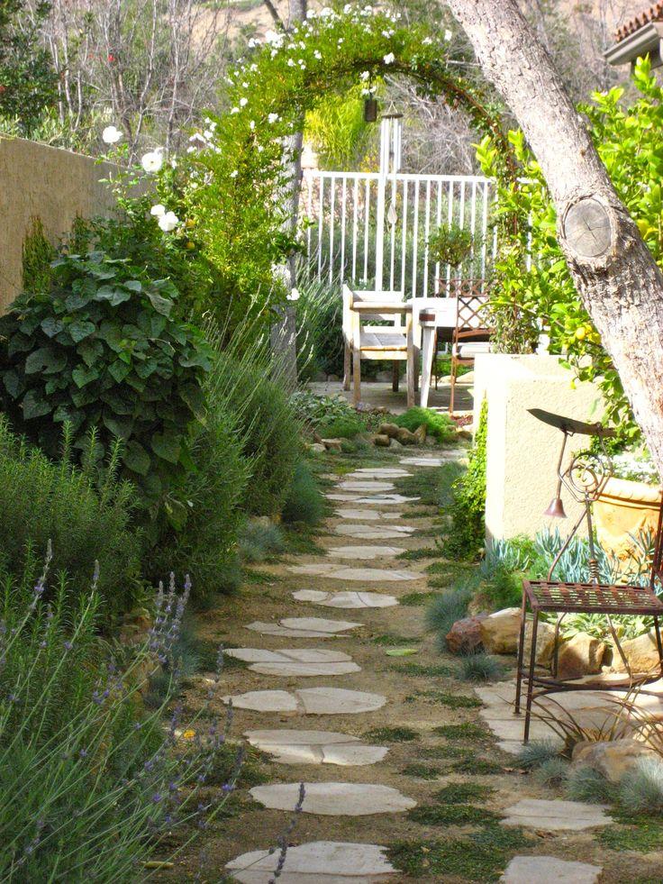 Yard Design: Narrow Side Yard Design Ideas on Narrow Yard Ideas  id=15330