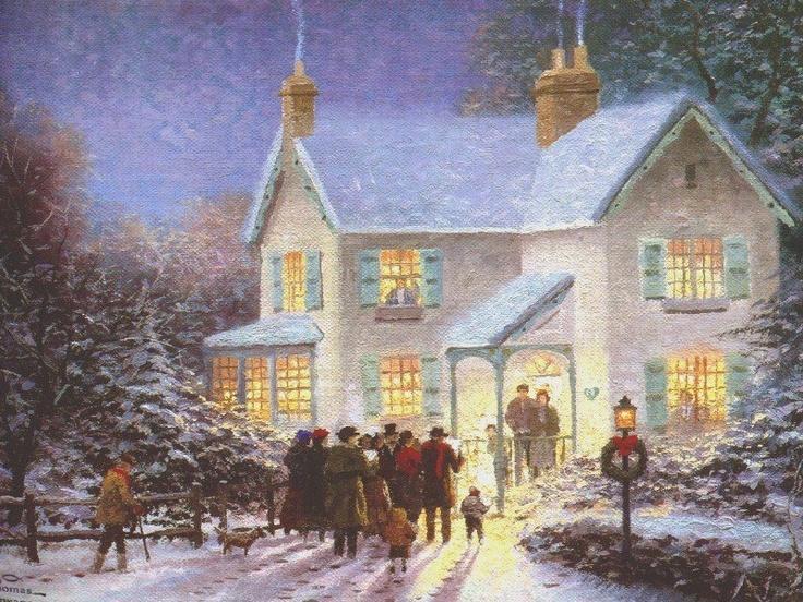 Everetts Cottage Thomas Kinkade Pinterest Cottages