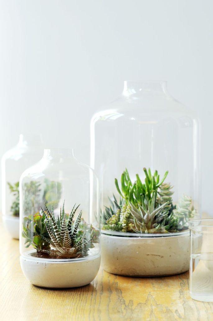 Groen wonen | Stylen met groen en glas - Woonblog StijlvolStyling.com