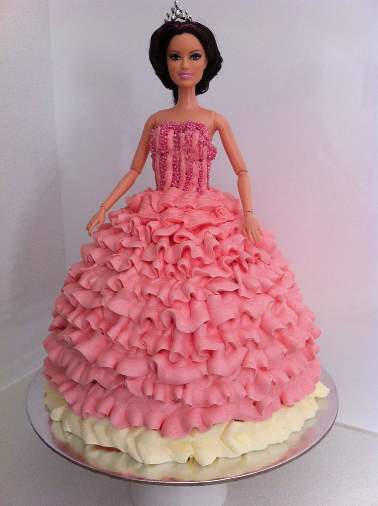 How To Make A Princess Cake Using Buttercream