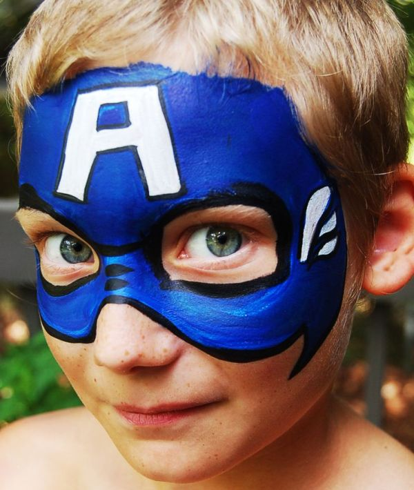 Best 25+ Captain America Face Paint ideas on Pinterest ...