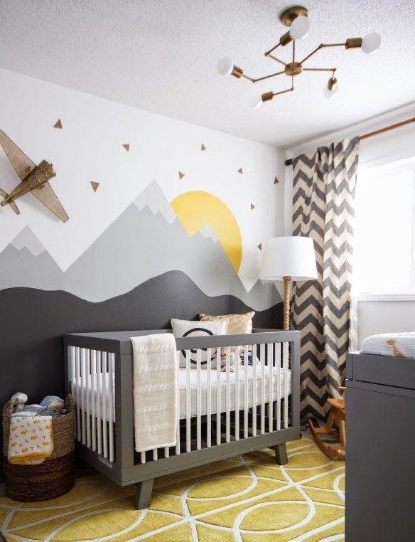the boo and the boy: eclectic nurseries: