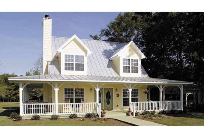 Open Floor Plan. Wrap Around Porch- Only The Porch Needs