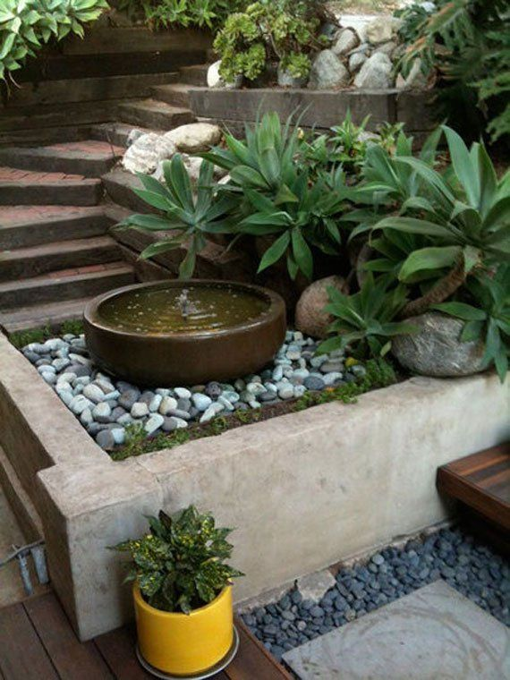 30 Beautiful Backyard Ponds And Water Garden Ideas | ideas ... on Small Backyard Water Features id=45570