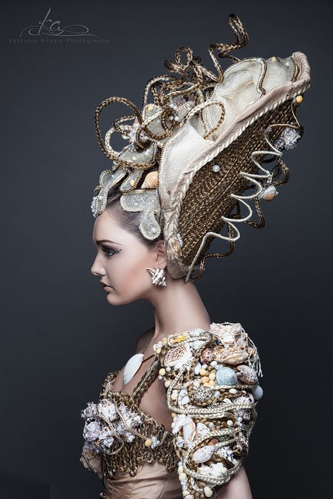 756 Best Images About Avant Garde Fantasy Hairstyles On
