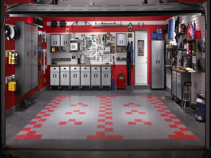 ... The Gladiator Garage Ideas: Luxury