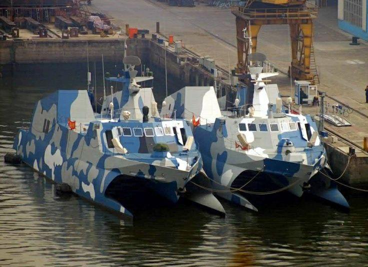 Chinese Navy Hubei Class Katamarans NAVYSHIPS And PATROLBOATS Pinterest Battleship