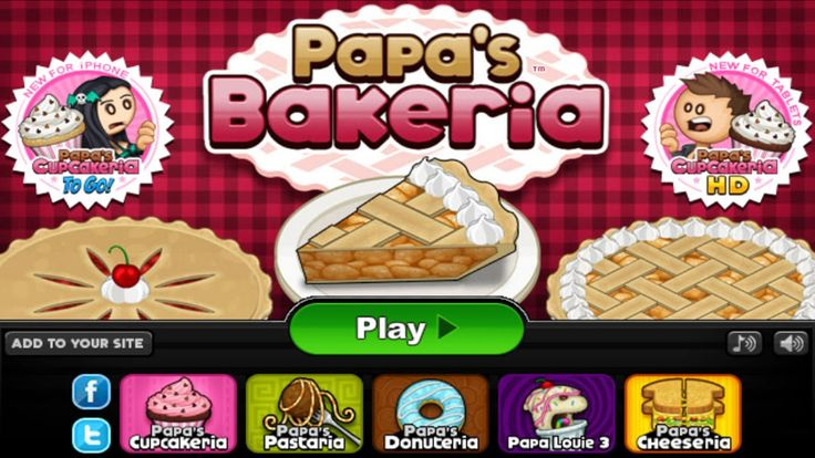 Papas Bakeria Papa Louie 10th Anniversary By Flipline Studios Walkthr Video Games