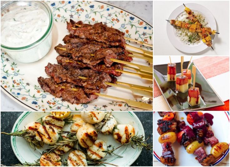 Check out these 10 skewer recipes to spearhead your next party. #FoodRepublic