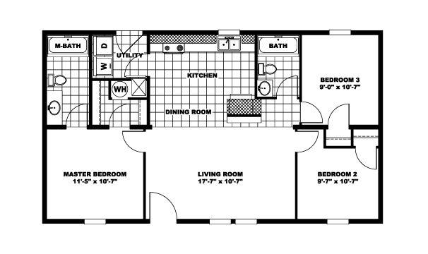 3br 2 Bath 24x40 Home PERFECT For Arch Cabin