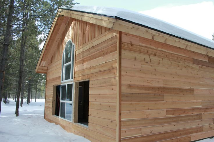 This Is A 1x10 Channel Rustic Cedar Siding. In This