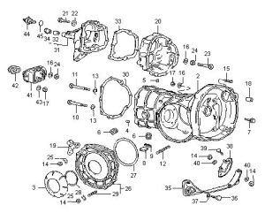 Diagram 4 VW Swing Axle Type 1, 2 & 3  Housings | Dune