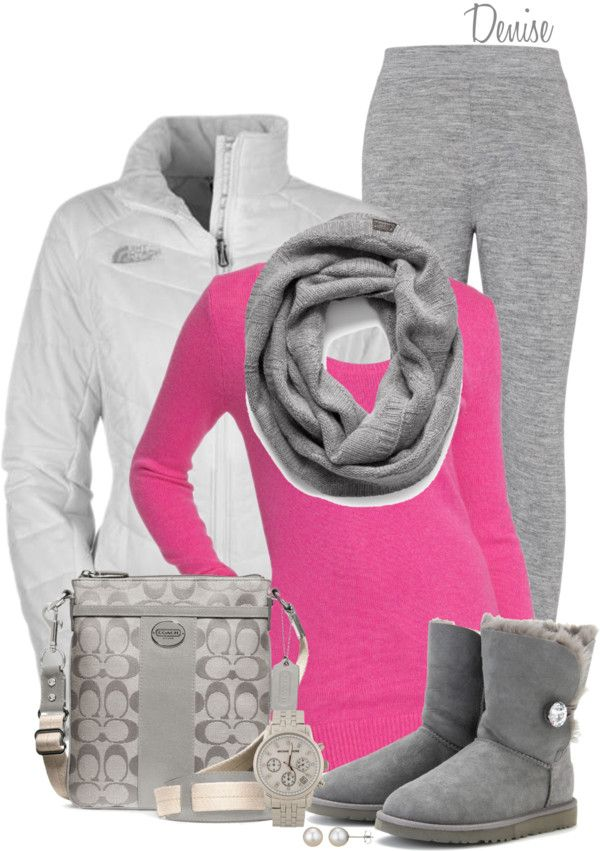 Sooo love the pink pop of color!!!