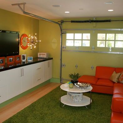 garage kid playroom and living spaces on pinterest on garage organization ideas that will save you space keeping things simple id=84824