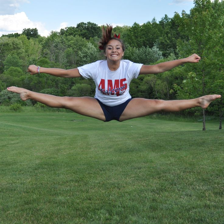 Images for cheerleading jumps toe touch cheer jumps