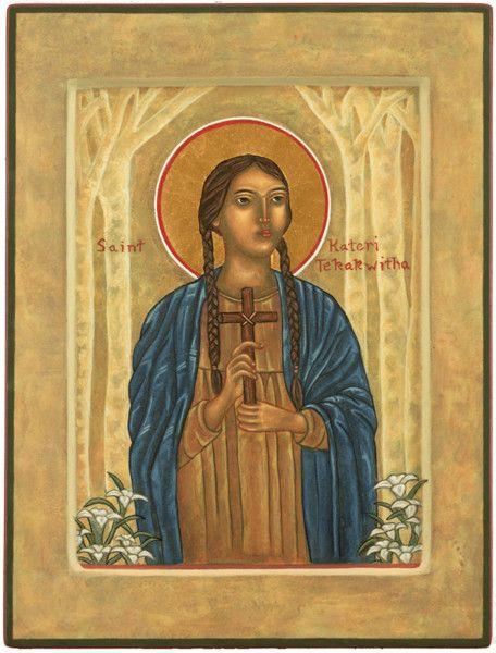 17 Best Images About Saint Kateri Tekakwitha Gaderi