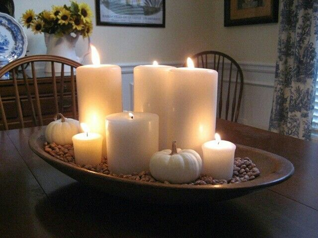Restaurant Table Candle Ideas