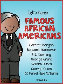 Black History Month Garrett Morgan And Benjamin Banneker On Pinterest