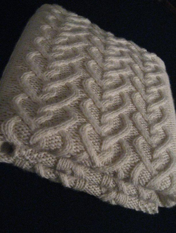Loom Knit Patchwork Baby Blanket