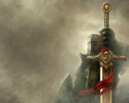 Medieval Knights Wallpaper fantasy knights swords
