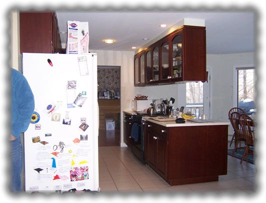 Hanging Kitchen Cabinets From Ceiling