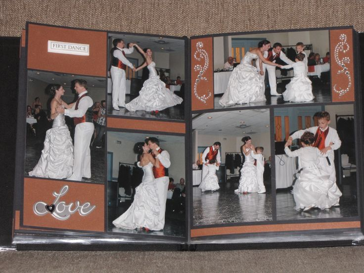 17 Best Images About Scrapbooking-Wedding On Pinterest