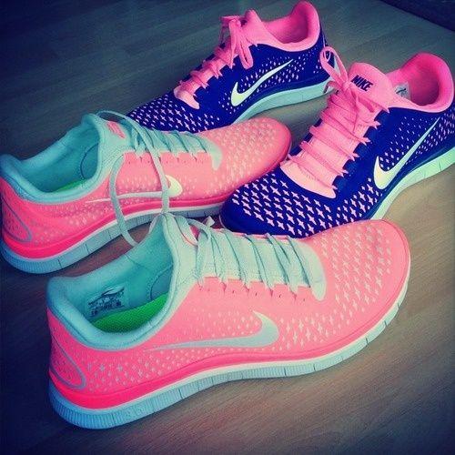 Nike running shoes.