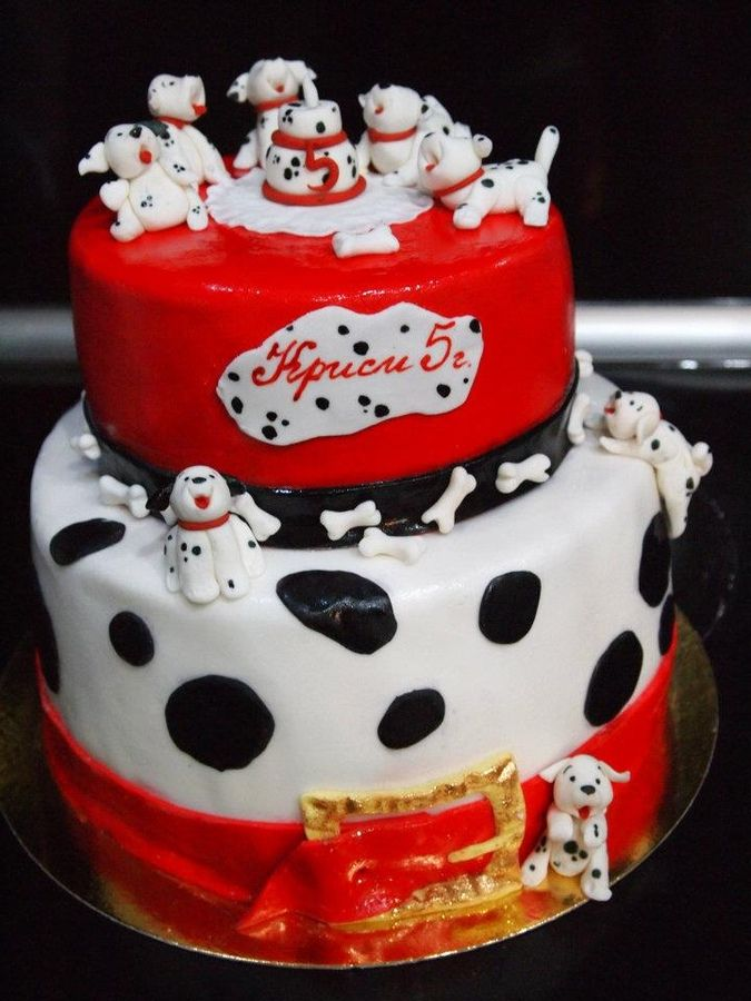 27 Best Images About 101 Dalmations Cakes On Pinterest