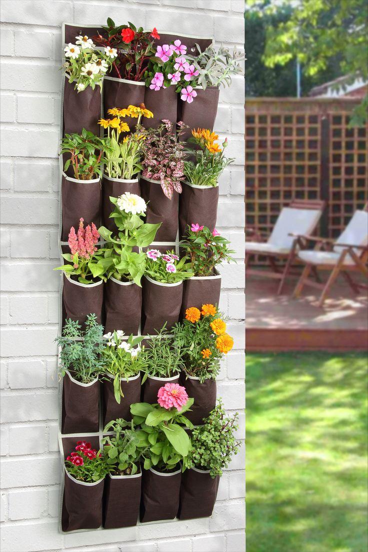Living Wall Vertical Planter Ideas
