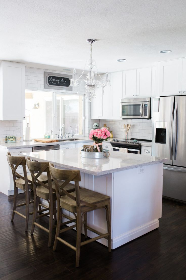 304 best images about White Kitchen Cabinets Inspiration ... on Small:xmqi70Klvwi= Kitchen Renovation Ideas  id=84234