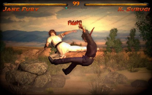 Kings of Kung Fu Video Game Images