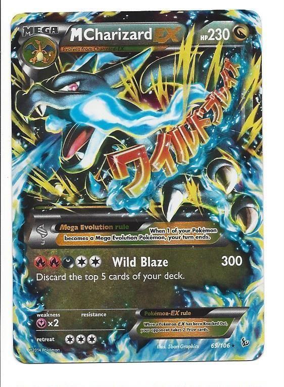 Pokemon Mega Charizard Ex Card 1000x1000jpg Pokmon