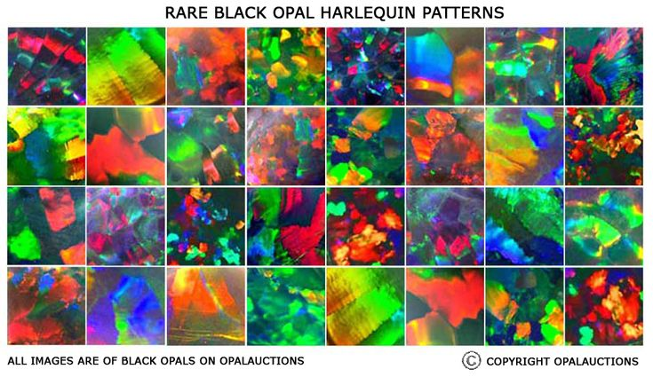 Help Black Opal Brightness And Pattern Charts Opals