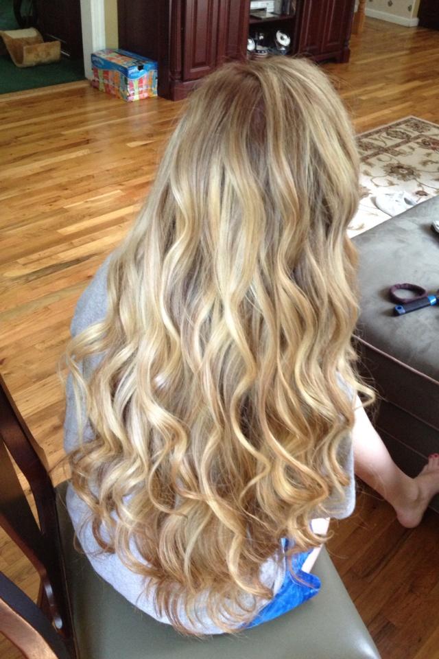 Loose Prom Curls Hair Curls Blonde Hair Amp Beauty
